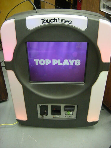 Touch Tunes Ovation Jukebox, Tested Working, Sounds Good!