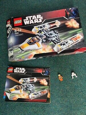 Lego Star Wars Y-Wing Fighter set 7658