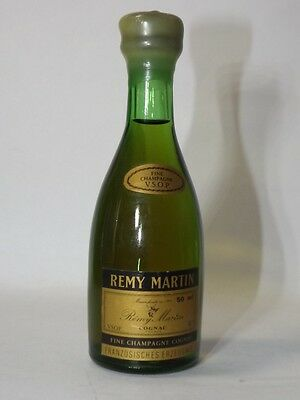 Cognac Remy Martin vsop 50 ml 40% mini flaschen bottle miniature Rar old 2