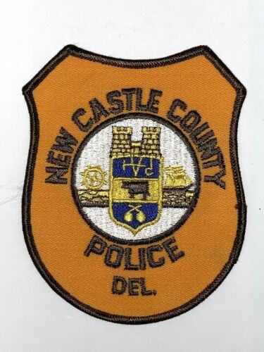 Delaware New Castle County Police Patch