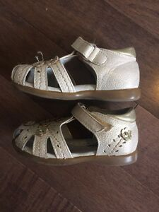 Summer leather sandals toddler