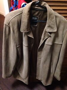DKNY suede jacket Inglewood Stirling Area Preview