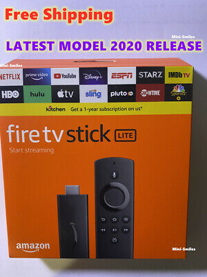 Amazon Fire TV Stick Lite with Alexa Voice Remote Control 2020 Brand New Sealed