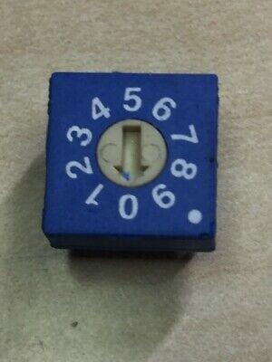 Ece Rotary Dip Switch Erd1-10-s Flat Type