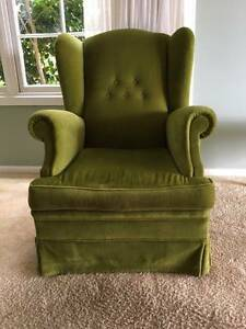 Armchair Bottle Green Belrose Warringah Area Preview