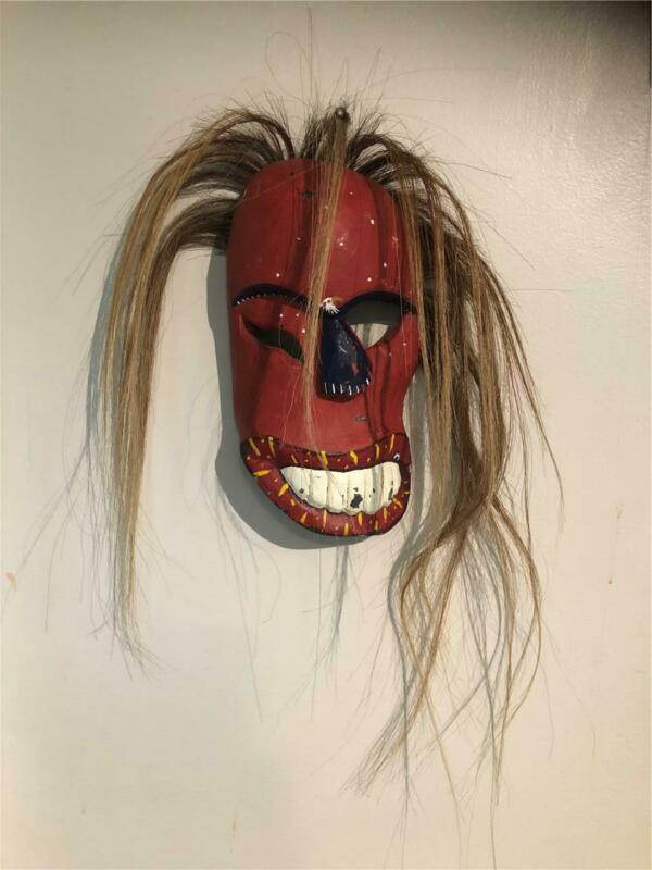 WEST COAST FIRST NATIONS STYLE MASK-SIGNED I C A