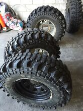 """31"""" mud tyres nearly new or swap Clayton Monash Area Preview"""
