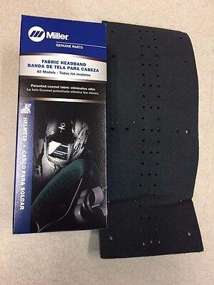 Miller 770249 Welding Helmet Headgear Headband Cosmel Fabric Eliminate Odor