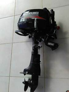 5HP Suzuki 4 stroke outboard - 2012 Cairns Cairns City Preview