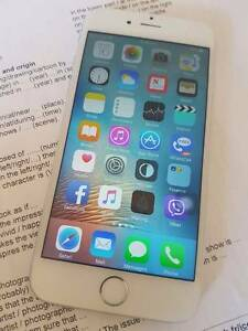 Iphone 6 16gb silver Lyneham North Canberra Preview