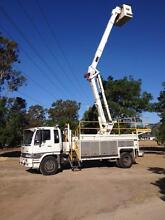 HINO Cherry Picker EWP IN SERVICE  truck scissorlift boom Yatala Gold Coast North Preview