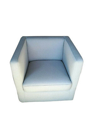 Modern Accent Fabric Tub Chair Lounge Sofa Home Occasional Armchair Swivel Aqua