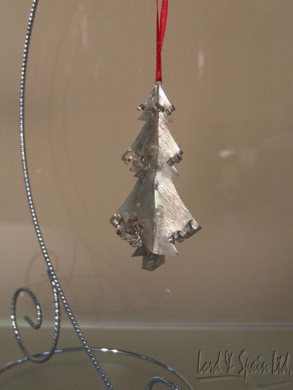 Janna Sterling Silver Christmas Tree Ornament-Mexico