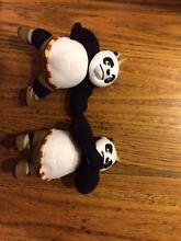 kung fu panda stuffed animals Camberwell Boroondara Area Preview