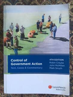 Administrative Law textbook - Control Of Government Action