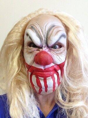 Gruseliger Clown Maske Halloween Latex Blutig Gesicht It Kostüm Zubehör - Blutiges Gesicht Kostüm