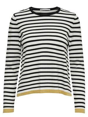 Gelb L/s Shirt (Only Damen Strick Pullover onlSUZANNA L/S Shirt Langarm Rundhals gestreift)