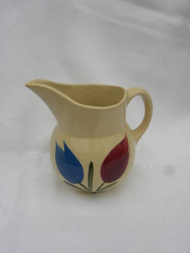 Extremely Rare Vintage Watt Pottery Tulip Pitcher #15