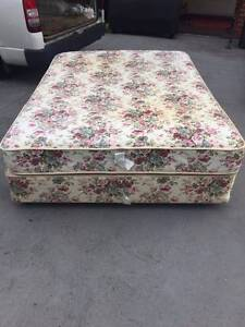 2x queen size comfortable base + mattress , can delivery at extra Box Hill Whitehorse Area Preview