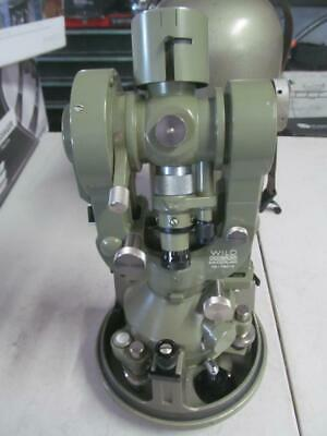 Wild Heerbrugg T-2 Sn 189791 Theodolite 1937-1955 Optical Micrometer Surveying
