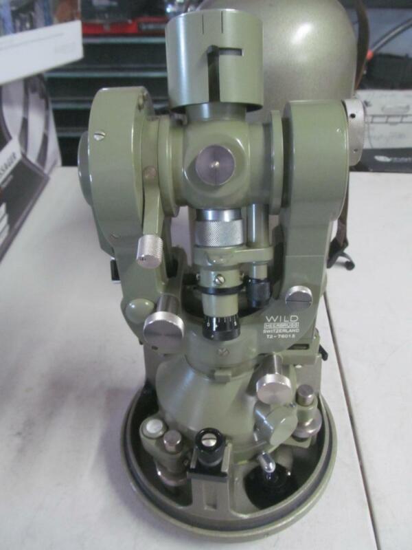 WILD HEERBRUGG T-2  S/N 189791 THEODOLITE 1937-1955 OPTICAL MICROMETER SURVEYING