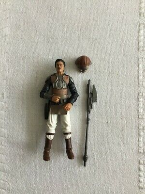 STAR WARS VINTAGE COLLECTION VC144 LANDO SKIFF GUARD LOOSE COMPLETE JABBA BARGE