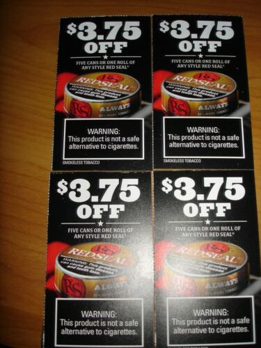 RED SEAL  COUPONS   SAVE $$$$
