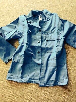 Jacke Hitzeschutzjacke Schutzjacke blau Gr. 60