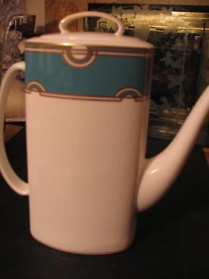 Lenox Kate Spade Corona Grove Aqua Coffeepot Coffee Pot  New