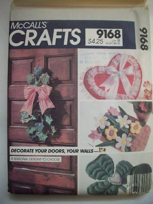 Christmas Holly Halloween Ghost Spring Eagle stuffed door decor  pattern 9168 - Holly Halloween