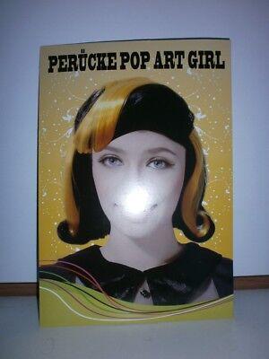 Damenperücke Pop Art Girl für Karneval...gebraucht