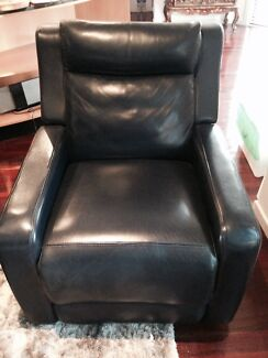 La-Z-Boy Single Leather Recliner Chairs Bari Design Sans Souci Rockdale Area Preview