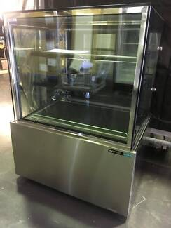 Anvil 4 Tier Square Glass Refrigerated Cake Display DSV0370
