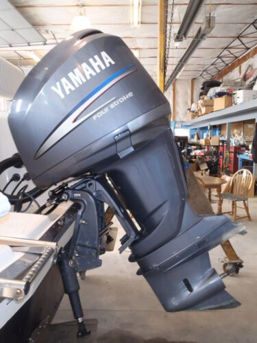 Used 2003 yamaha f225txrc 225hp 4 stroke outboard boat for Yamaha 200 outboard 2 stroke