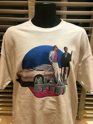 Miami Vice Inspired 80S 90S Tv Show Funny Retro Cult Film Movie Series 1 T Shirt - Miami Tv Halloween