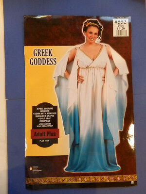 Assembled Deluxe Cleopatra Egyptian Halloween Costume   Adult Plus 16-20