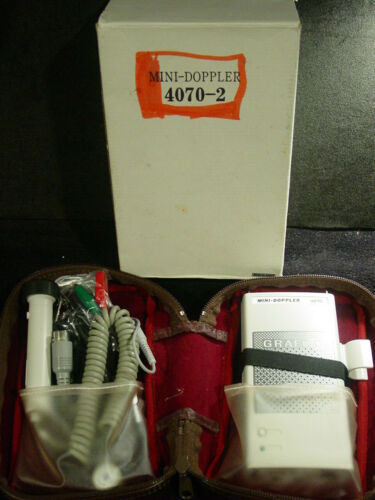 Grafco Mini-Doppler Model 4070 NEW (other) Complete + Case Made in Japan