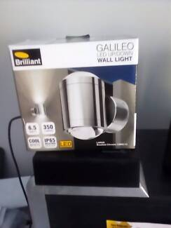 BRILLIANT Wall Light GALILEO Large Brushed Chrome 19805/13