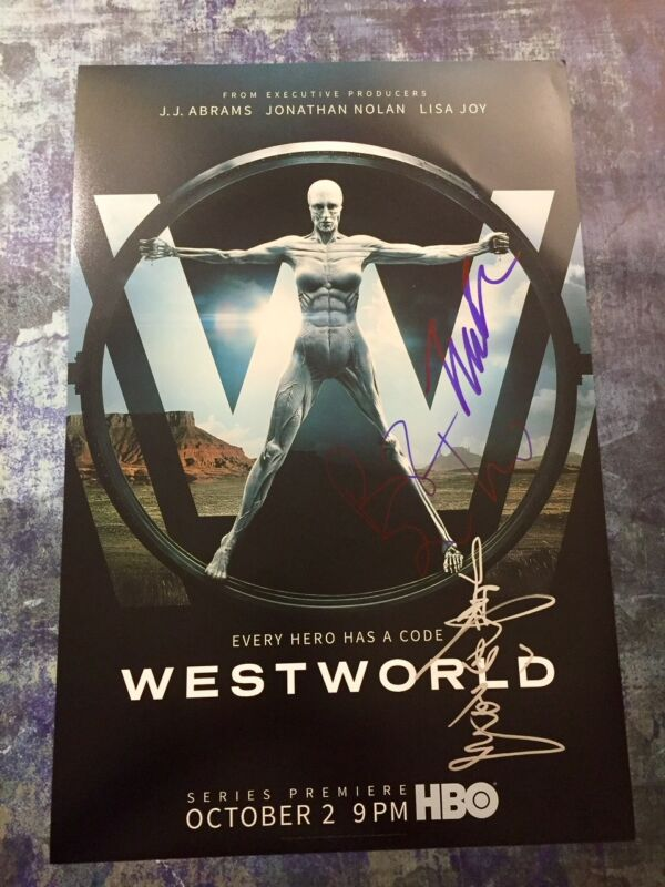 GFA Tessa Thompson Rodrigo * WESTWORLD * Cast x3 Signed 12x18 Photo AD2 COA