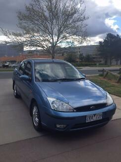 LONG WEEKEND SALE SAVE $1000!!! 2003 Ford Focus Sedan LX Auto Barton South Canberra Preview