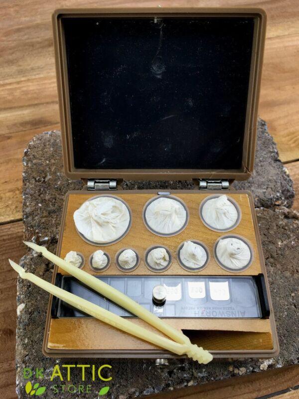 Ainsworth Class S Metric Gram Weight Set - Rhodium Plated Bronze + Extras