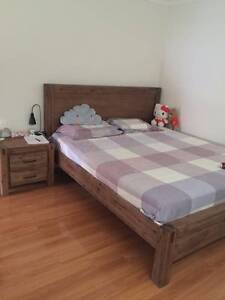 Near new king size bed frame for sale Eastwood Ryde Area Preview