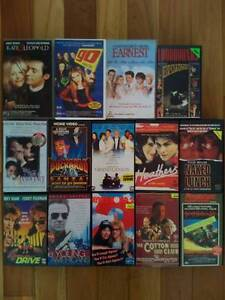 14 VHS Video Movies Ex Rental Collector Tapes Rare Lot 80s 90s Allawah Kogarah Area Preview