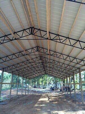11-40 Steel Trusses Pole Barn For A 40x100 Pole Barn