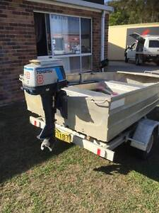 3.1 Stacer on Aluminium Trailer with 8hp Tohatsu Yamba Clarence Valley Preview