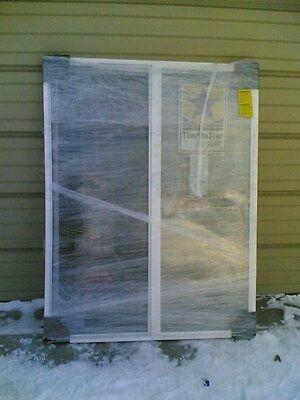 BRAND NEW:  Big White VINYL House SLIDER WINDOW 46x59