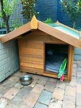 Medium Solid Pine Dog Kennel Brand New Dog House - Aust. Made Balmain Leichhardt Area Preview