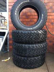 BFGOODRICH t/a 285/75 r16 tyres Meadow Heights Hume Area Preview