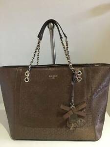 BRAND NEW GUESS TOTE BAG - BRONZE Karawara South Perth Area Preview