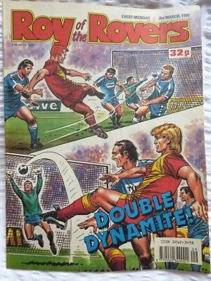 Roy of the Rovers Comic 03 03 1990 Exc